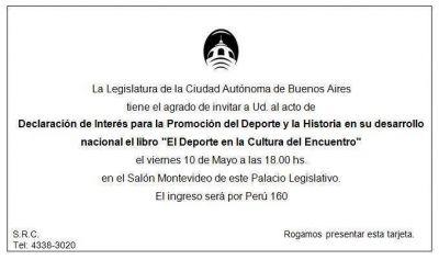 El Padre Pepe y Lupo serán distinguidos en la Legislatura porteña