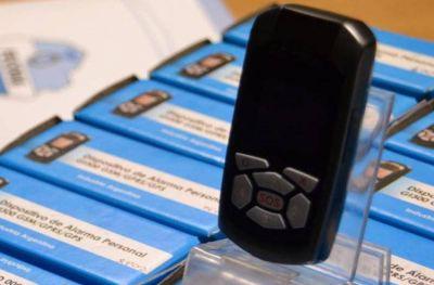 Botones antipánico: llegan 100 dispositivos a la ciudad