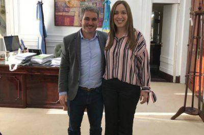 Gonzalo Diez se reunió con Maria Eugenia Vidal
