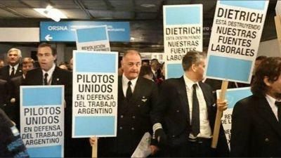 Nuevo conflicto entre el sindicato de pilotos y Aerolíneas
