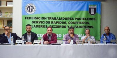 Por unanimidad, reeligen a Hlebowicz al frente de la Federación de Pasteleros