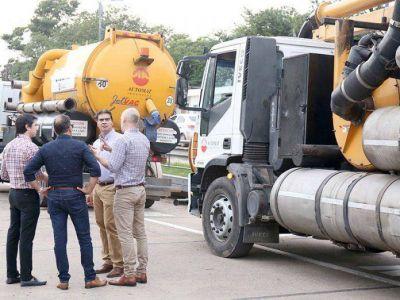 El Municipio refuerza la inversión en infraestructura hídrica e incorpora camiones desobstructores