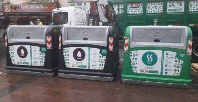 Nuevos contenedores de basura en el centro de Córdoba