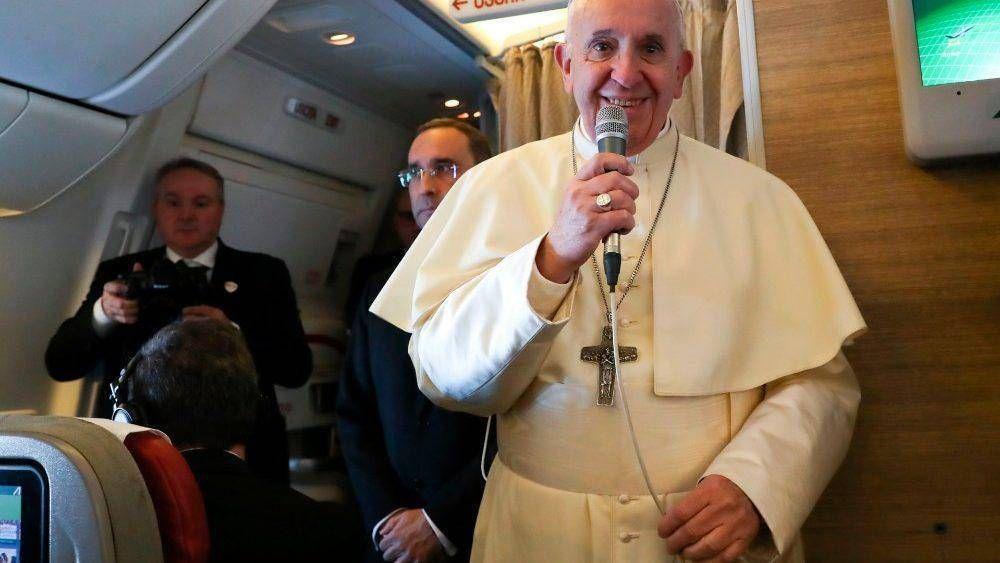 Papa: pido servirle al Señor, que estos viajes no sean una gira