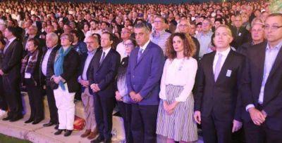 6.000 judíos de la diáspora asistieron a la ceremonia en inglés y español del Día de los Caídos
