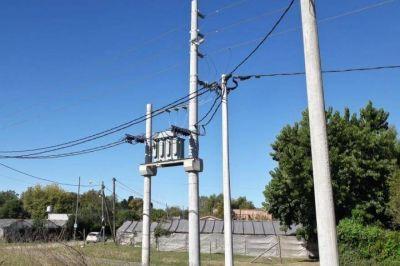 EDELAP invierte más de $700.000 en las redes de Villa Elisa