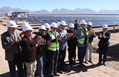 Hito en Iglesia: ya produce el parque solar Guañizuil