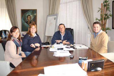 Avanzan las reuniones para la realización del Parlamento Juvenir en Dolores