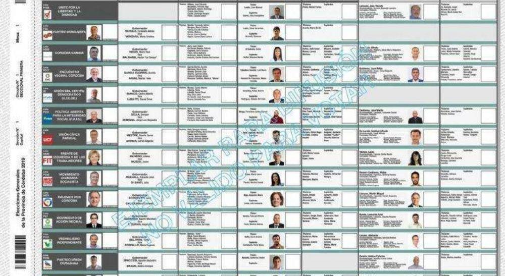 Corte cordobesa rechazó cambios en la boleta única