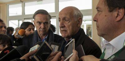 """""""Sería un honor ser el vice de Lavagna"""", dice Miguel Pichetto"""
