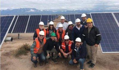 CARPA visitó el Parque Solar Fotovoltaico Nonogasta
