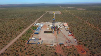El desarrollo de Shell: otros 40 mil barriles vienen en marcha