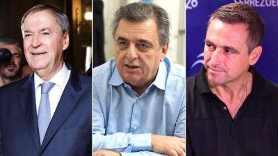 Juan Schiaretti busca un holgado triunfo en una elección con fuerte impacto en el PJ y en el interior de Cambiemos