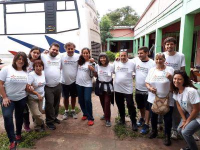 Más de 2 mil consultas médicas en la campaña solidaria en el Chaco