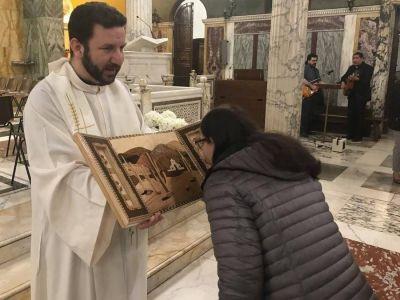 Comenzó la visita del último grupo de obispos, que el jueves verá al Papa