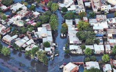 La Plata: Avanza plan de reducción de riesgo de inundaciones