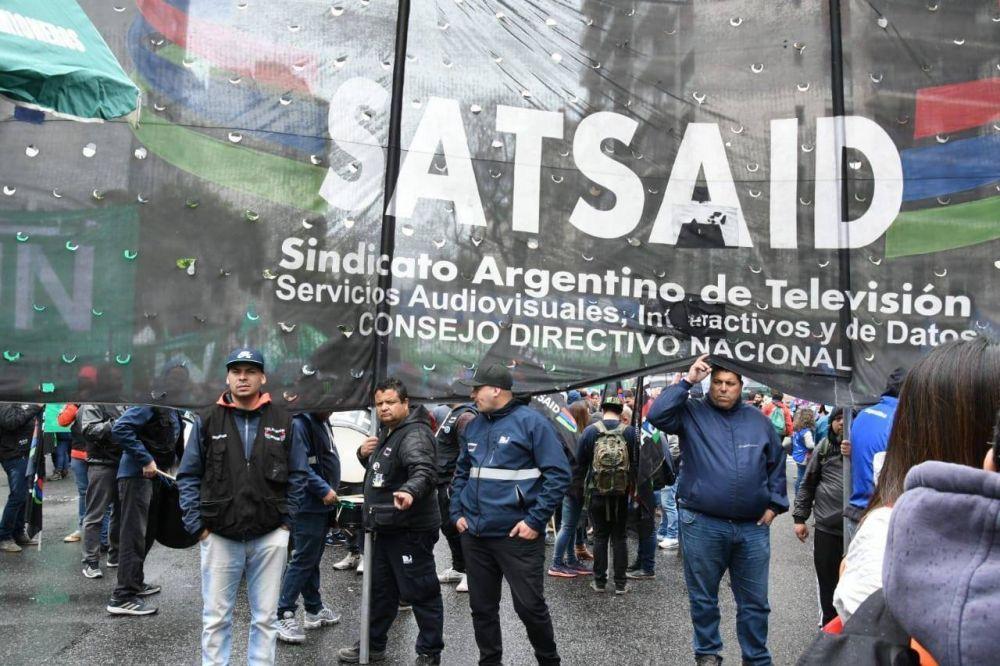 Televisión: Se firmó un preacuerdo paritario y SATSAID suspendió el paro nacional
