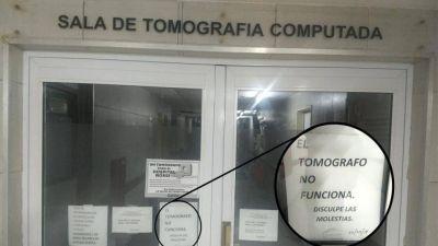 Campaña para que Vidal arregle un tomógrafo
