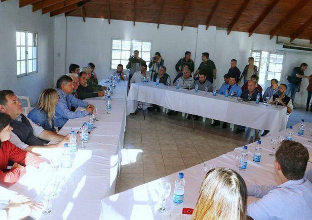 Emergencia: Peppo convocó a intendentes del Sudoeste a formular un plan de reconstrucción en cada localidad