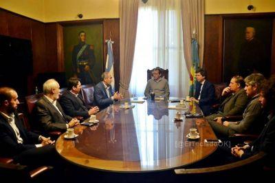 La Plata avanza en el plan de reducción del riesgo de las inundaciones junto a Nación y la UNLP