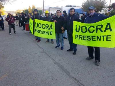 Tras la protesta, obreros de UOCRA en Regina lograron algunos compromisos