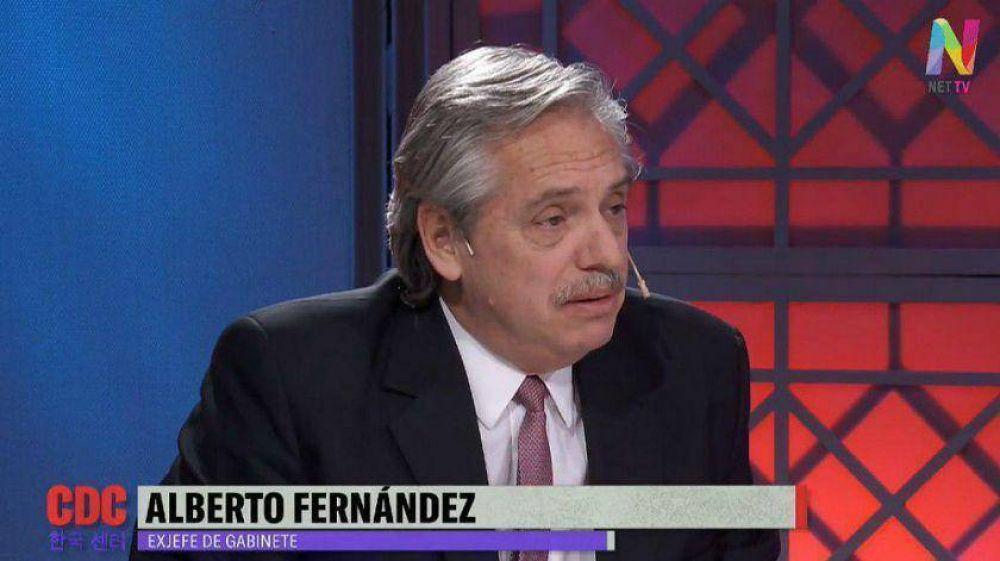 Alberto Fernández y la candidatura de Cristina Kirchner: