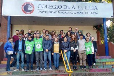 """Intervención de universitarios en el """"Illia"""" que se preparan para """"la Marcha de Antorchas"""""""