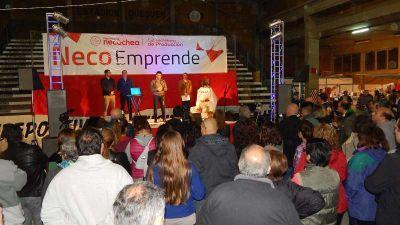 Ruggiero destacó la presentación de los emprendedores de NecoEmprende