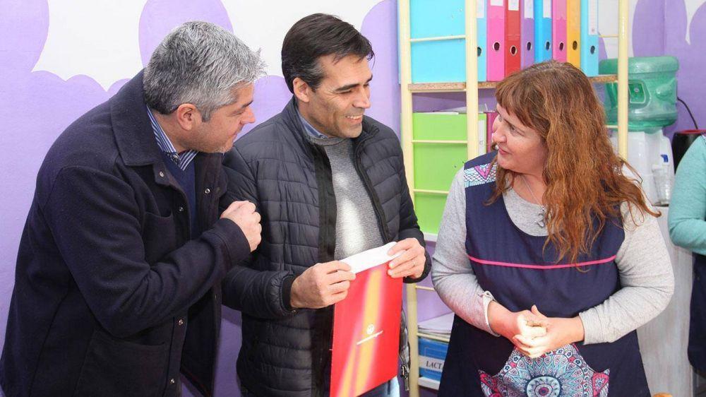 """La cooperadora del Jardín Municipal """"Evita"""" ya tiene Personería Jurídica"""
