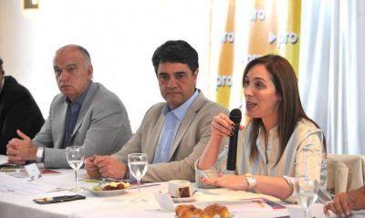 Vidal se sentó a cenar con la mesa de intendentes oficialistas