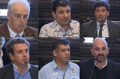 Voces marplatenses en el Senado de la Nación por la flota pesquera