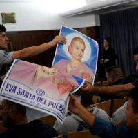 Primera luz verde para el pedido de la CGT de beatificar a Evita