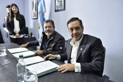 La UOCRA firmó convenio para fortalecer y ampliar la oferta de capacitación a trabajadores