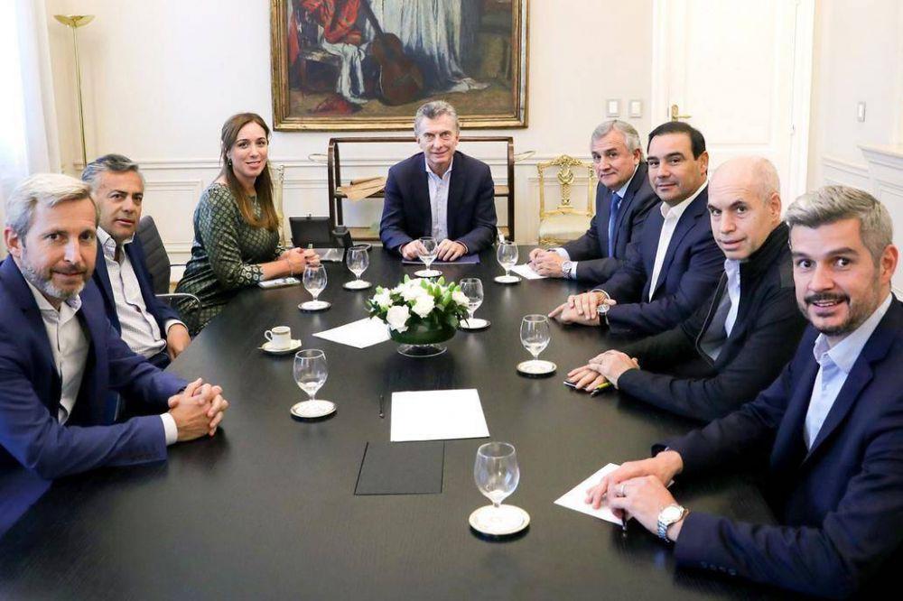 Malestar del macrismo con Alfredo Cornejo en una reunión en la Casa Rosada