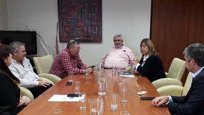 Aguilera analizó con diputados el pago de la deuda a CAMMESA