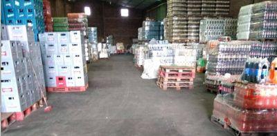 El gobierno porteño clausuró una distribuidora de bebidas