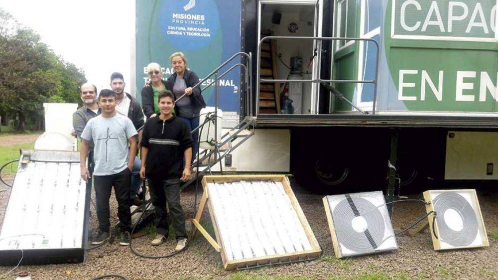 Crean paneles solares para bajar el consumo eléctrico