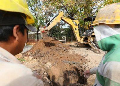 Avanzan las obras cloacales en Esteban Echeverría: beneficiarán a 10 mil vecinos