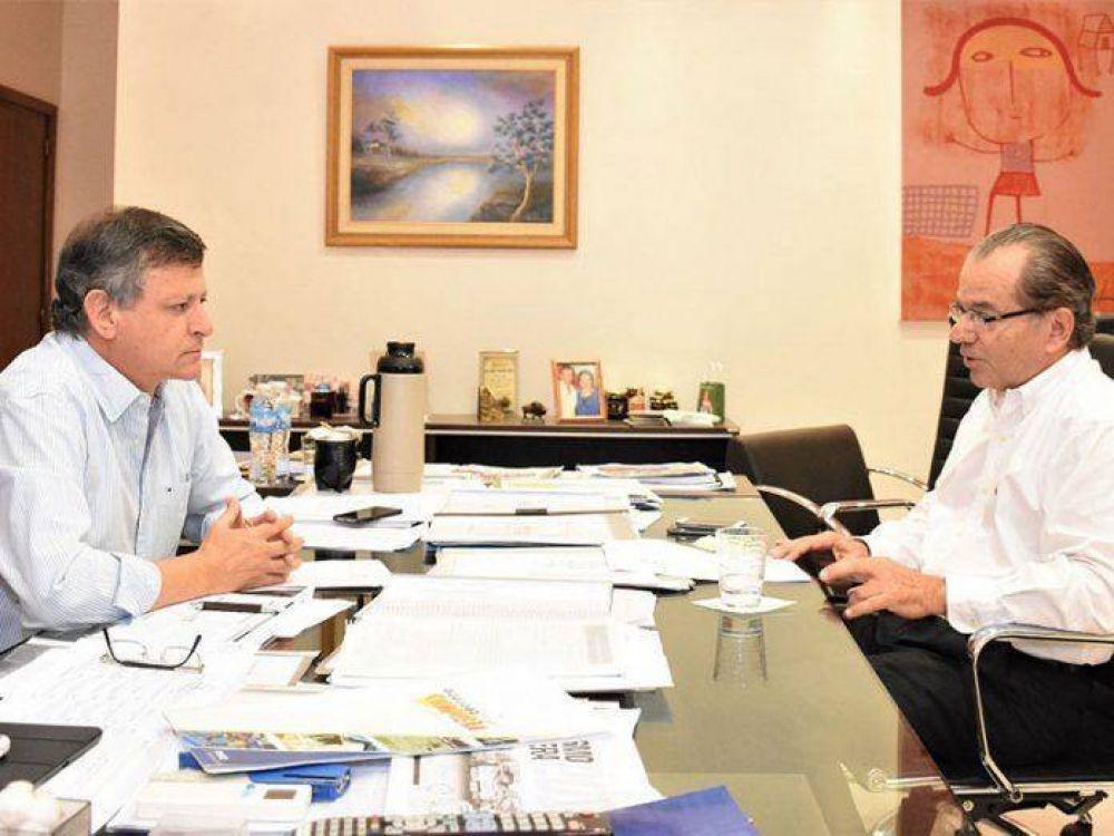 La Provincia transfirió recursos para la ejecución de obras hídricas en Sáenz Peña