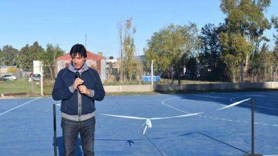 Acerbo, intendente de Daireaux, inauguró importante obra en arboledas