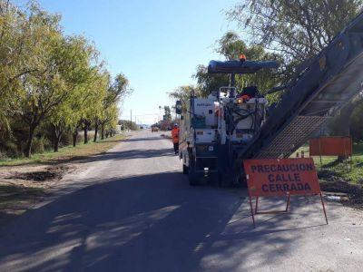 """""""Las obras mejorarán la transitabilidad y brindarán mayor seguridad vial"""", dijo el intendente Castelli"""