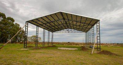 Tornquist: el intendente Bordoni avanza con el desarrollo del parque apícola