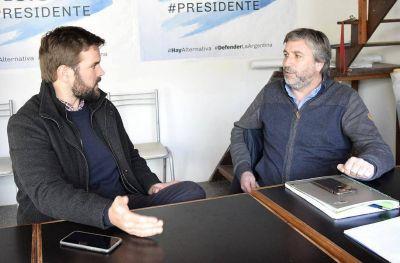 Alternativa Federal: Lombardini se reunió con Rodrigo Blanco