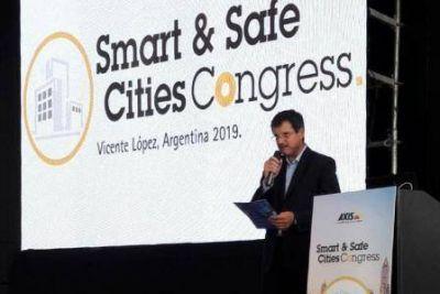 Vicente López fue sede de un congreso internacional sobre seguridad y ciudades inteligentes
