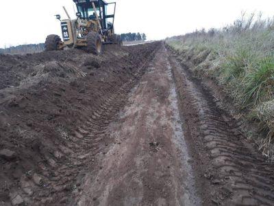 El Ente Vial aseguró que no hay ni un solo camino rural cortado en Necochea