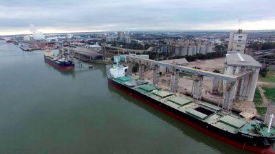 Bahia Blanca: Exportan 922.141 toneladas de granos y subproductos en abril
