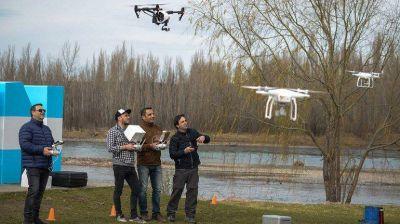 Los droneros de Vaca Muerta realizan una jornada para impulsar la actividad