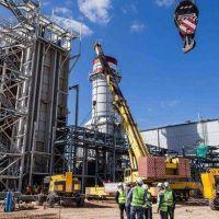 Pampa Energía puso en marcha la ampliación de una central termoeléctrica