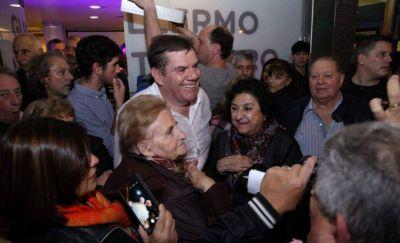 Montenegro inauguró un local en Mar del Plata con apoyo de Macri y Vidal