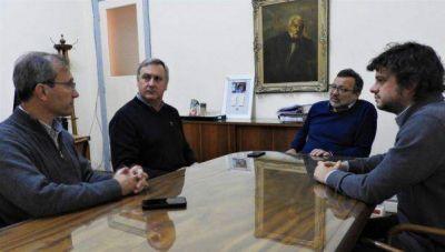 Fructífera reunión con funcionarios marplatenses para comenzar a proyectar una Mesa Regional de Producción